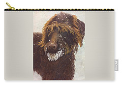 Don't Eat The Snow Carry-all Pouch by Nancy Jolley
