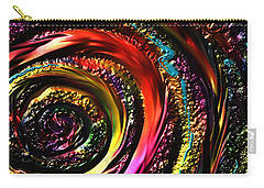 Carry-all Pouch featuring the drawing Don't Get Foiled Again by Kevin Caudill