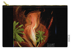 Carry-all Pouch featuring the digital art Don't Have To Water These Tree by Sherri Of Palm Springs