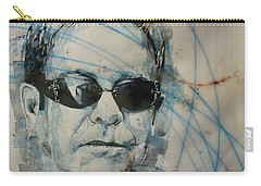 Carry-all Pouch featuring the painting Don't Let The Sun Go Down On Me  by Paul Lovering