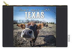 Don't Mess With Texas Carry-all Pouch