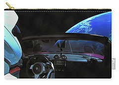 Dont Panic - Tesla In Space Carry-all Pouch