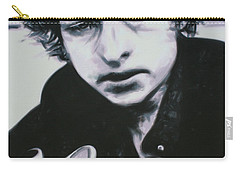 Carry-all Pouch featuring the painting Dont Think Twice, Its Alright by Luis Ludzska