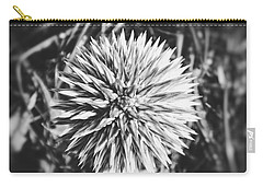 Carry-all Pouch featuring the photograph Don't Touch Me by Karen Stahlros