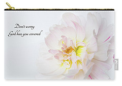 Carry-all Pouch featuring the photograph Don't Worry by Mary Jo Allen