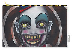 Don't You Like Clowns?  Carry-all Pouch by Abril Andrade Griffith