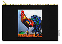 Doodle  Dum  Rooster Carry-all Pouch