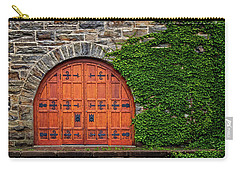 Door At Old Winery Carry-all Pouch