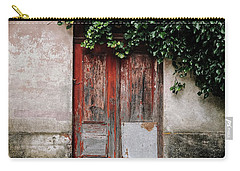 Carry-all Pouch featuring the photograph Door Covered With Ivy by Marco Oliveira