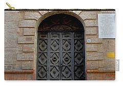 Door In Ferrara, Italy Carry-all Pouch