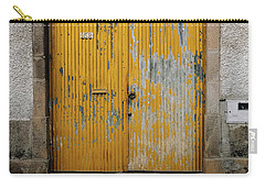 Carry-all Pouch featuring the photograph Door No 152 by Marco Oliveira