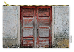 Carry-all Pouch featuring the photograph Door No 175 by Marco Oliveira