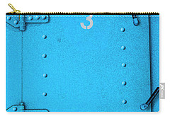 Carry-all Pouch featuring the photograph Door Number 3 by Paul Wear