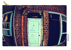 Carry-all Pouch featuring the photograph Door To Nowhere by Yulia Kazansky
