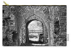 Doors At Ballybeg Priory In Buttevant Ireland Carry-all Pouch