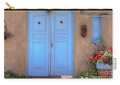 Doors, Peppers And Flowers. Carry-all Pouch