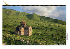 Dorband Monastery In The Field, Armenia Carry-all Pouch