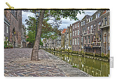 Carry-all Pouch featuring the photograph Dordrecht Behind The Church by Frans Blok