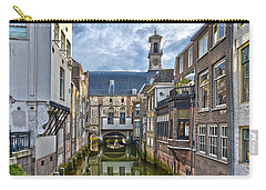 Carry-all Pouch featuring the photograph Dordrecht Town Hall by Frans Blok
