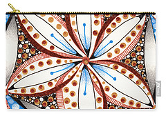 Dotted Zendala Carry-all Pouch