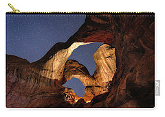 Double Arch At Night Carry-all Pouch