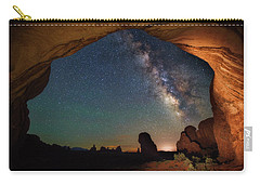 Double Arch Milky Way Views Carry-all Pouch by Darren White
