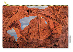 Double Arches At Arches National Park Carry-all Pouch