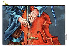 Double Bass And Bench Carry-all Pouch