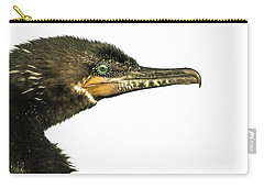 Carry-all Pouch featuring the photograph Double-crested Cormorant  by Robert Frederick