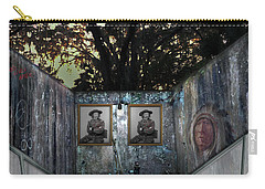 Carry-all Pouch featuring the photograph Double Custer by Steve Sperry