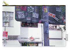 Double Exposure Street Sign Carry-all Pouch