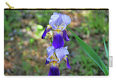 Double Iris Carry-all Pouch