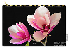 Double Magnolia Blooms Carry-all Pouch