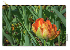 Double Multicolor Tulips Carry-all Pouch