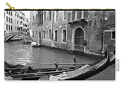 Carry-all Pouch featuring the photograph Double Parked by Donna Corless