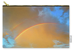 Double Rainbows In The Desert Carry-all Pouch