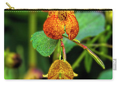 Double Shot Of Jewelweed Carry-all Pouch by Barbara Bowen