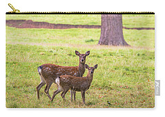 Carry-all Pouch featuring the photograph Double Take by Scott Carruthers