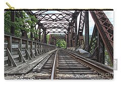 Double Truss Bridge #1679 On The Wmsr Carry-all Pouch by Jeannette Hunt