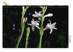 Double Tuberose In Bloom Carry-all Pouch