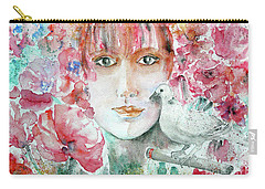 Dove Carry-all Pouch by Jasna Dragun