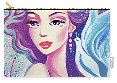 Dove Mermaid Carry-all Pouch