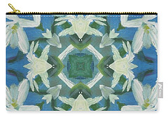 Doves Of Peace Carry-all Pouch by Maria Watt