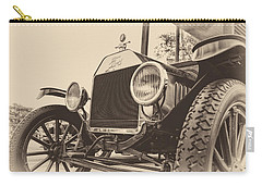 Carry-all Pouch featuring the photograph Down A Dusty Road by Caitlyn  Grasso
