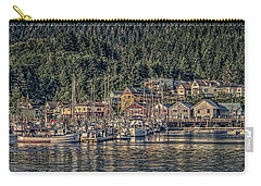 Down At The Basin Carry-all Pouch by Timothy Latta