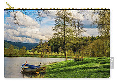 Carry-all Pouch featuring the photograph Down By The Lake  by David Dehner