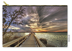 Carry-all Pouch featuring the photograph Down By The River by Phil Mancuso
