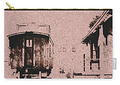Down By The Station Carry-all Pouch by Aliceann Carlton