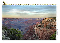 Carry-all Pouch featuring the photograph Down Canyon by Gaelyn Olmsted