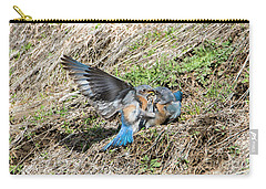 Carry-all Pouch featuring the photograph Down For The Count by Mike Dawson